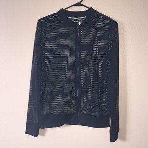 NWT Victoria's Secret Sport mesh jacket size S